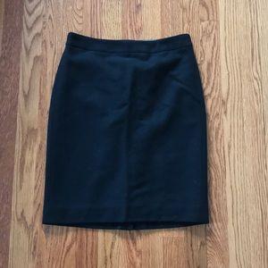 0 J. Crew Black Pencil Skirt